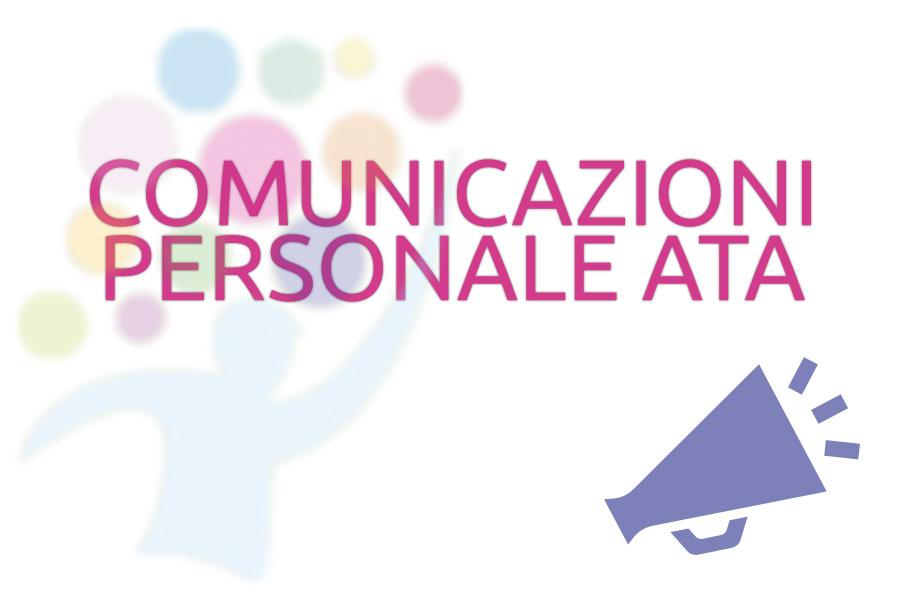 Comunicazioni per personale ATA